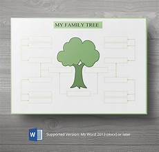 Family Tree Pics Template 8 Free Family Tree Templates Three Generation Inversed