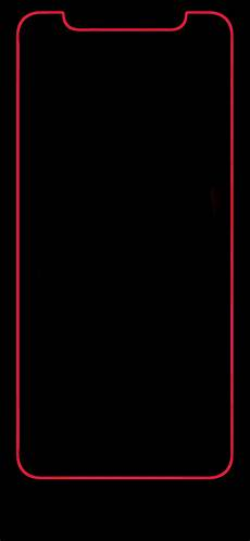 iphone x black wallpaper with border iphone x bold border looks great di 2019