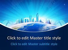 Powerpoint Themes Free Free Business World Powerpoint Template Free Powerpoint