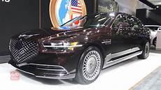 2020 genesis g90 2020 genesis g90 exterior and interior walkaround 2019