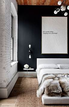 Black Walls In Bedroom And Dramatic Give Your Bedroom A Glam Makeover With