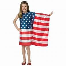 american flag clothes childrens usa flag dress child size 7 10 flag dress dress up