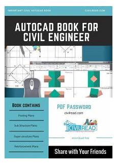 Autocad Design Book Pdf Pdf Download Autocad Book For Civil Engineering