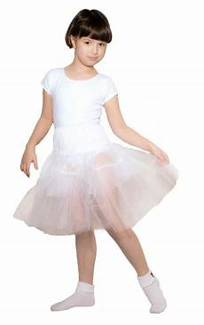 petty coats children white crinoline net petticoat child size 19 quot length