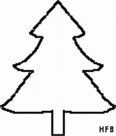 einfacher tannenbaum ausmalbild malvorlage gemischt