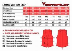 Vest Size Chart Size Charts Motopilot