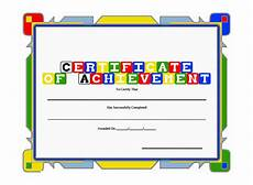 Free Certificate Template For Kids 6 Award Templates Doc Pdf Free Amp Premium Templates