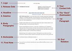 Press Releases Template How To Write A Press Release In 8 Steps Free Template