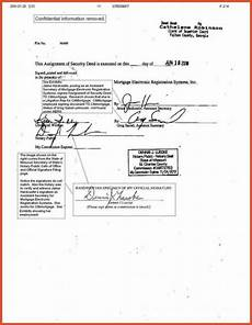 Notarized Documents Sample Notary Document Sample Template Business