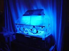 Jaundice Light Pasha In Incubator With Blue Light This Incubator Was