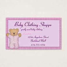 Baby Business Cards Baby Clothes Business Cards Amp Templates Zazzle