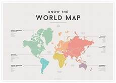 Pop Chart Map World Map By We Are Squared Educational Art Print For