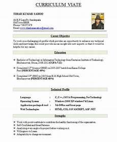 Resume Format Of Fresher Beautiful Resume Format Resume Format For Freshers