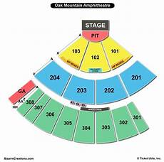 Chautauqua Amphitheater Seating Chart Oak Mountain Amphitheatre Seating Chart Seating Charts