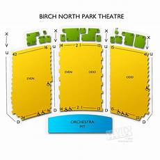North Park Observatory Seating Chart The Observatory North Park Seating Chart Vivid Seats