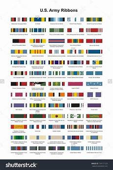 Us Army Service Ribbons Chart Us Army Ribbons Army Ribbons Military Medals Army
