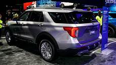 2020 Ford Explorer Linkedin by 2020 Ford Explorer Live Naias Motor1 Photos