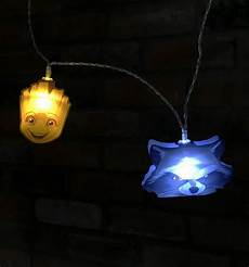 Rocket String Lights Marvel Comics Guardians Of The Galaxy Groot And Rocket