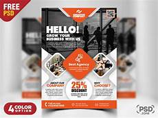 Free Business Flyer Design Creative Business Flyer Psd Template Download Psd