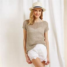 knit summer free knitting patterns knit a lovely linen lace top for