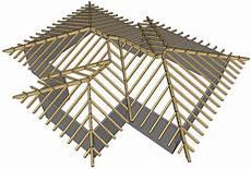 tetti a padiglione la struttura portante