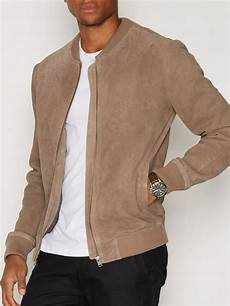 Light Brown Suede Jacket Mens Shncardiff Suede Jacket Selected Homme Light Brown