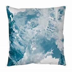 blue marble texture throw pillow pixers 174 we live to