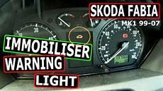 Skoda Fabia Oil Warning Light Skoda Fabia Immobiliser Dashboard Warning Light 99 07