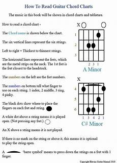 How To Read Chord Charts Ukulele Guitar Manual Intro How To Read Chart Pg 01b Videos