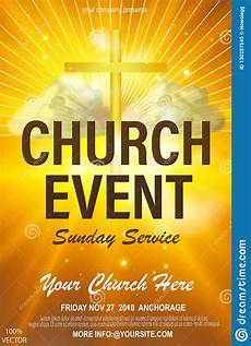 Christian Flyer Templates Free Christian Invitation Poster Template Religious Flyer Card