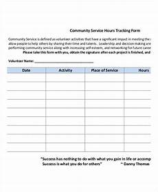 Volunteer Tracking Form Template Free 42 Tracking Form Examples In Pdf Excel Ms Word