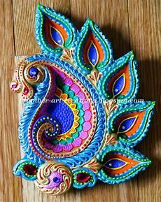 Designer Diyas Diy Hand Painted Diyas Diwali Diy Diwali Diya