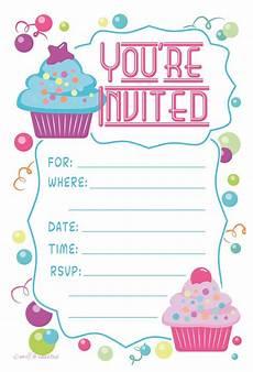Bday Party Invites Birthday Invitation Cards Amazon Com