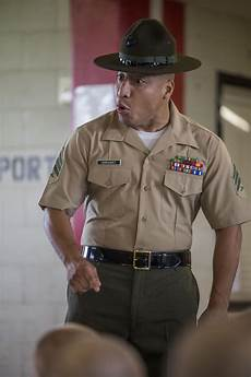 Marines Corps Drill Instructor Dvids Images Parris Island Recruits Meet Marine Corps