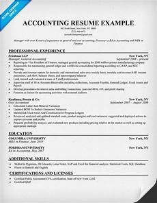 Resume Sample For Accountants Accounting Supervisor Resume Resume Examples Job Resume