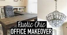 diy l shaped farmhouse wood desk office makeover hometalk