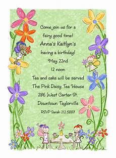 Fairy Party Invitation Wording Fairy Invitation Fairy Party Invitation By Amy Adele