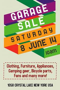 Garage Sale Flyers Examples Garage Sale Flyer Templates Postermywall