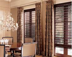 Drapes Window Treatments Pairing Blinds And Shades With Drapery Serving Fairfield