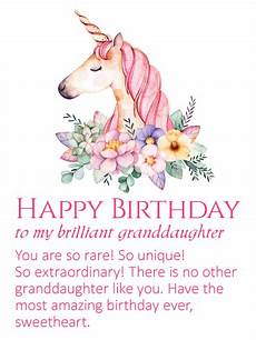birthday card templates for granddaughter to my brilliant granddaughter happy birthday wishes card