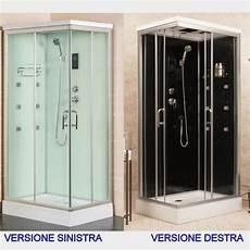 cabine doccia cabina idromassaggio nera o box doccia 70x90 100