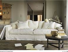 White Linen Sofa 3d Image by Large Sofa Wrinkled White Linen Canap 233 Canap 233 Cosy