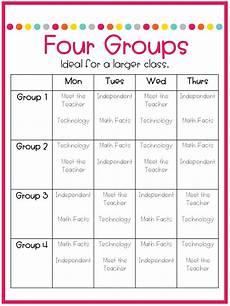 Teacher Schedule Part 3 Schedules For Math Centers Not So Wimpy Teacher
