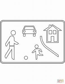 Malvorlagen Verkehrsschilder Ausdrucken Ausmalbild Verkehrszeichen In Deutschland Beginn Eines