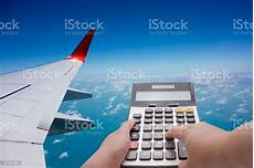 Travel Costs Calculator Travel Cost Calculation Concept Stock Photo Amp More