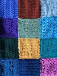 knit along wir stricken gemeinsam patchworkdecke