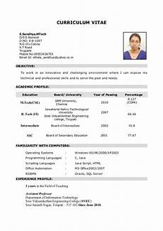 What Is A Traditional Resume My Resume