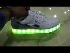 Nike With Light Shoes Nike Led Light Shoes Youtube
