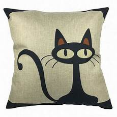 luxbon cotton linen throw pillow cover animal pilow