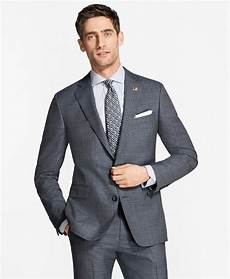 Brooks Brothers The Light Regent Fit Plaid 1818 Suit Brooks Brothers